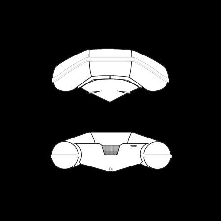 Diesel Rubbing tender rib